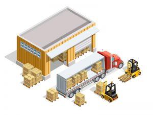 gambar ilustrasi full container load atau fcl