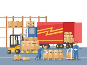 ilustrasi less container load