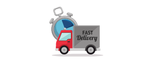 ilustrasi pengiriman barang cepat dan aman