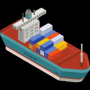 gambar kapal kontainer